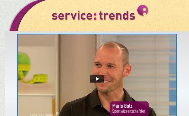Mario bei Service trends